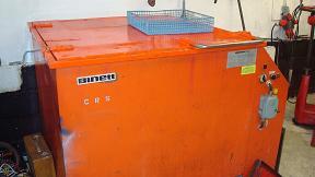 Här tvättas alla sorters motorblock och motordelar